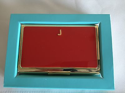 Kate spade monogrammed business card holders shoprdstrom colourmoves