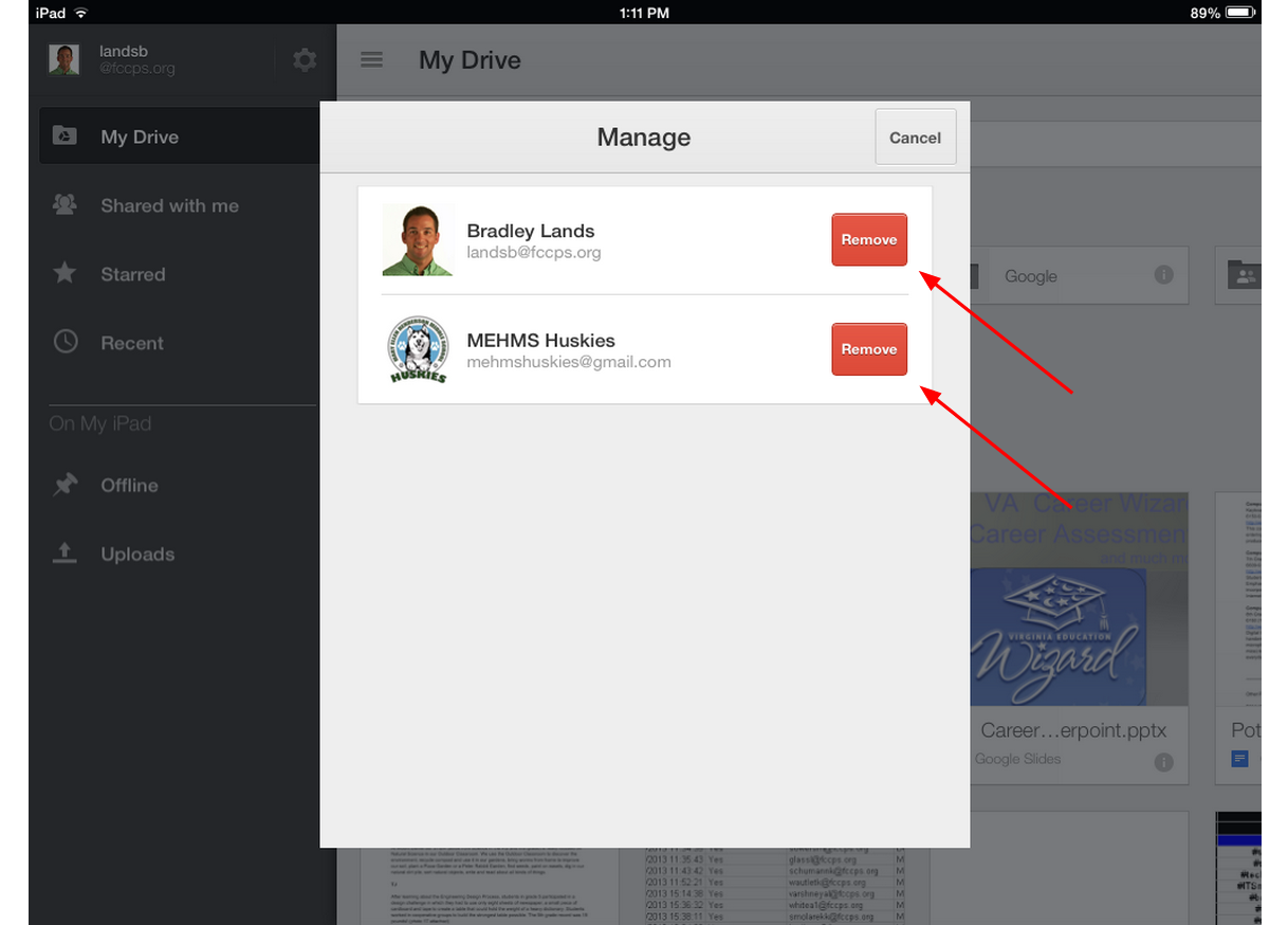 5 easy steps to remove accounts from the google drive app