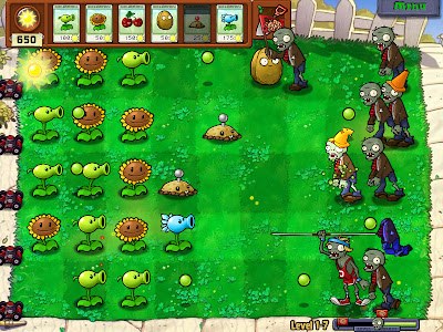 Plants VS Zombies Daytime