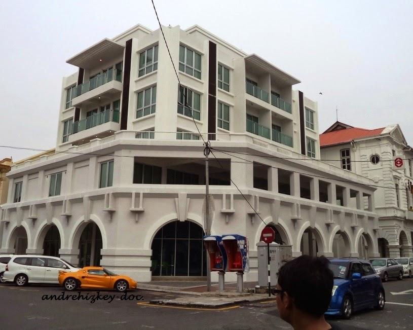 renoved building in pulau pinang
