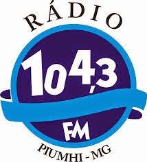 ouvir a Rádio 104 FM 104,3 Piumhí MG