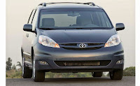 Toyota Sienna Minivan for Family Outing