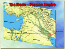 Map of The Mede-Persian Empire