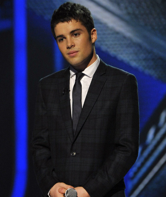 Joe Mcelderry Promo Picture For Tv Show Popstar To Operastar Which