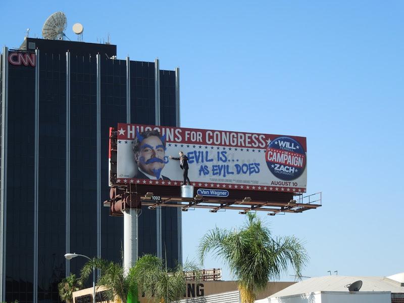 Campaign Evil special installation billboard