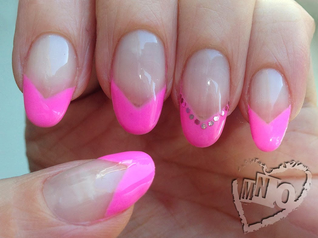 Nail Design Art Ideas Easy French Pink Cute Stiletto Pointy Almond