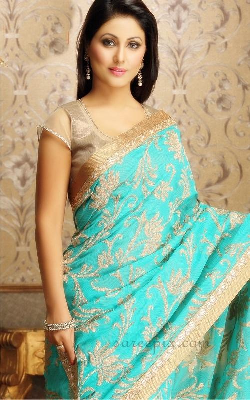 Hina-khan-designer-saree-pic