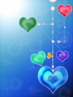 Love Heart Wallpaper For Mobile : cellphone Wallpapers: abstract heart wallpaper, abstract ...