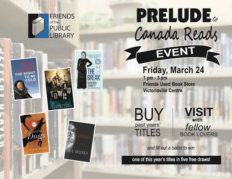 Prelude to Canada Reads.