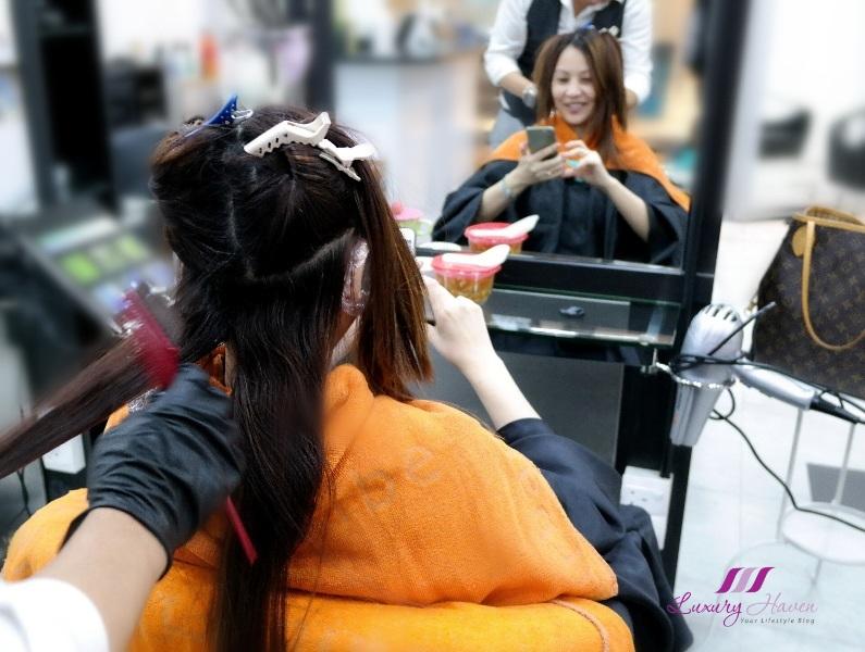 japanese hair salon naoki yoshihara shiseido colour review