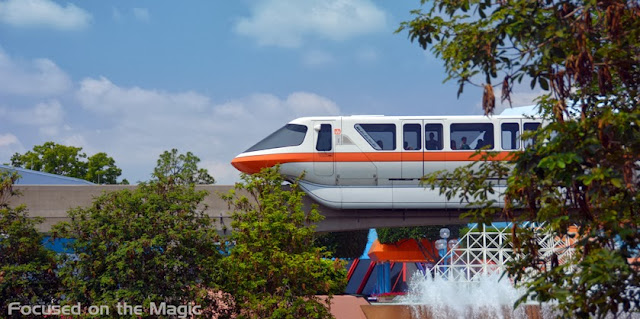Magical Orange Blogorail Monorail