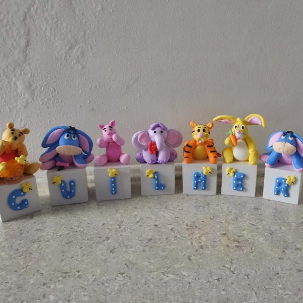 Cubos da Turma do Pooh