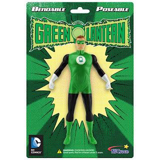 NJ Croche DC Comic Bendy Green Lantern Figure