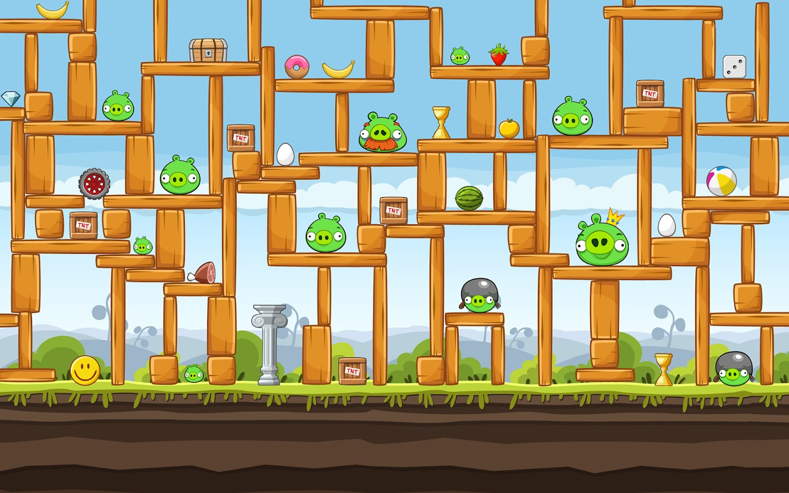 Bad Piggies 1.5.1 Final PC Game