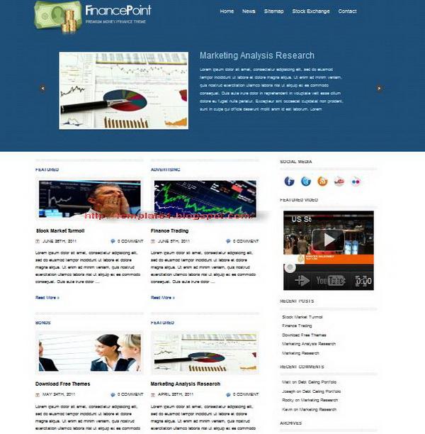 Finance Point WordPress Theme