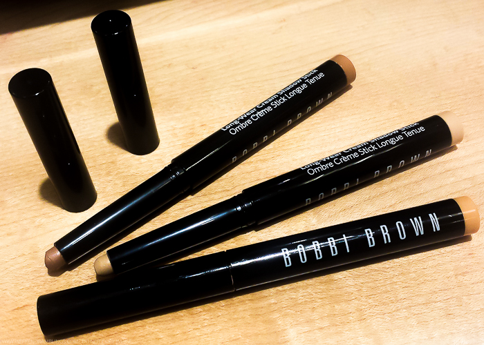Bobbi Brown Long-Wear Cream Eyeshadow Sticks Swatches