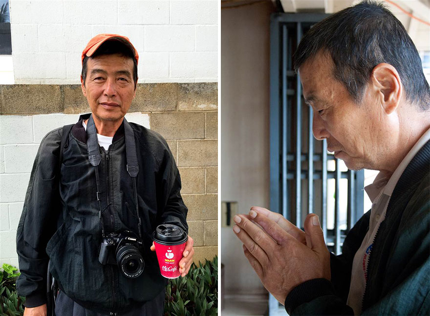 """""""I gave my old camera to my dad, in hopes of sparking his interest in photography and giving him something to look forward to. I want him to stay in this good place"""" -  After 10 Years Of Photographing Homeless People, Photographer Discovers Her Own Father Among Them"""