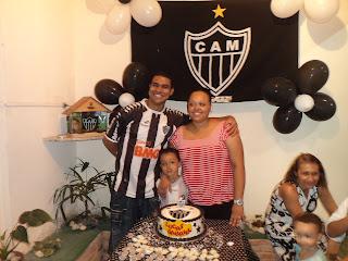Comemoração em família...