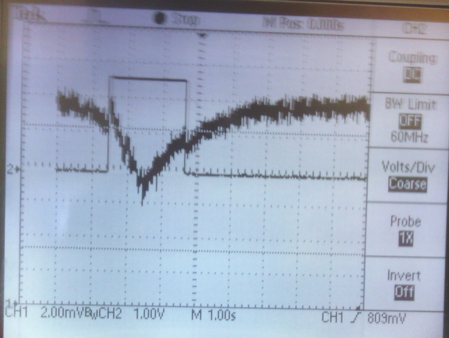 Univeristy Of Liverpool A Dual Infrared Sensor System For Fall Pir Circuit Diagram Using Lm324 Oscilloscope Output And Comparator Walking Past At Distance 1m