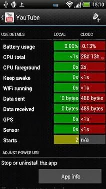 Battery Stats Plus Pro android apk - Screenshoot