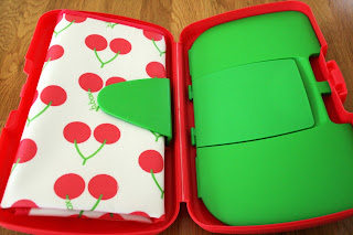 Koo-di baby wipe box in cherry delight click here to buy on www.tumstotots.com