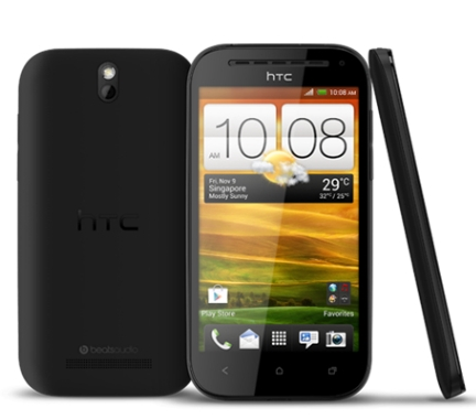 HTC One SV: 4.3 inches