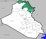 Kurdistan And Iraq Map