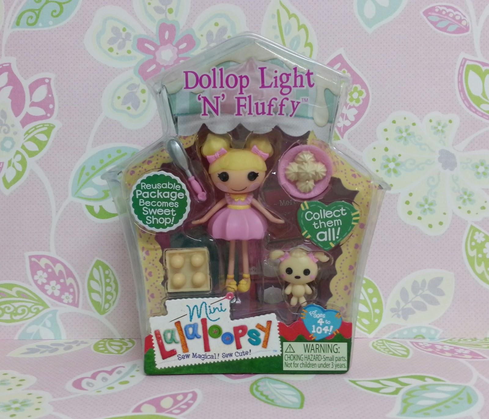 Lalaloopsy Fancy Frost N Glaze Dollop light-n-fluffyLalaloopsy Dollop Light N Fluffy