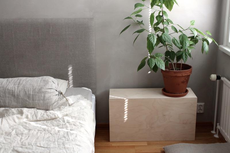 luonnollinen makuuhuone