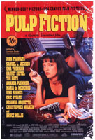 Cartel de Pulp Fiction, montada por Sally Menke