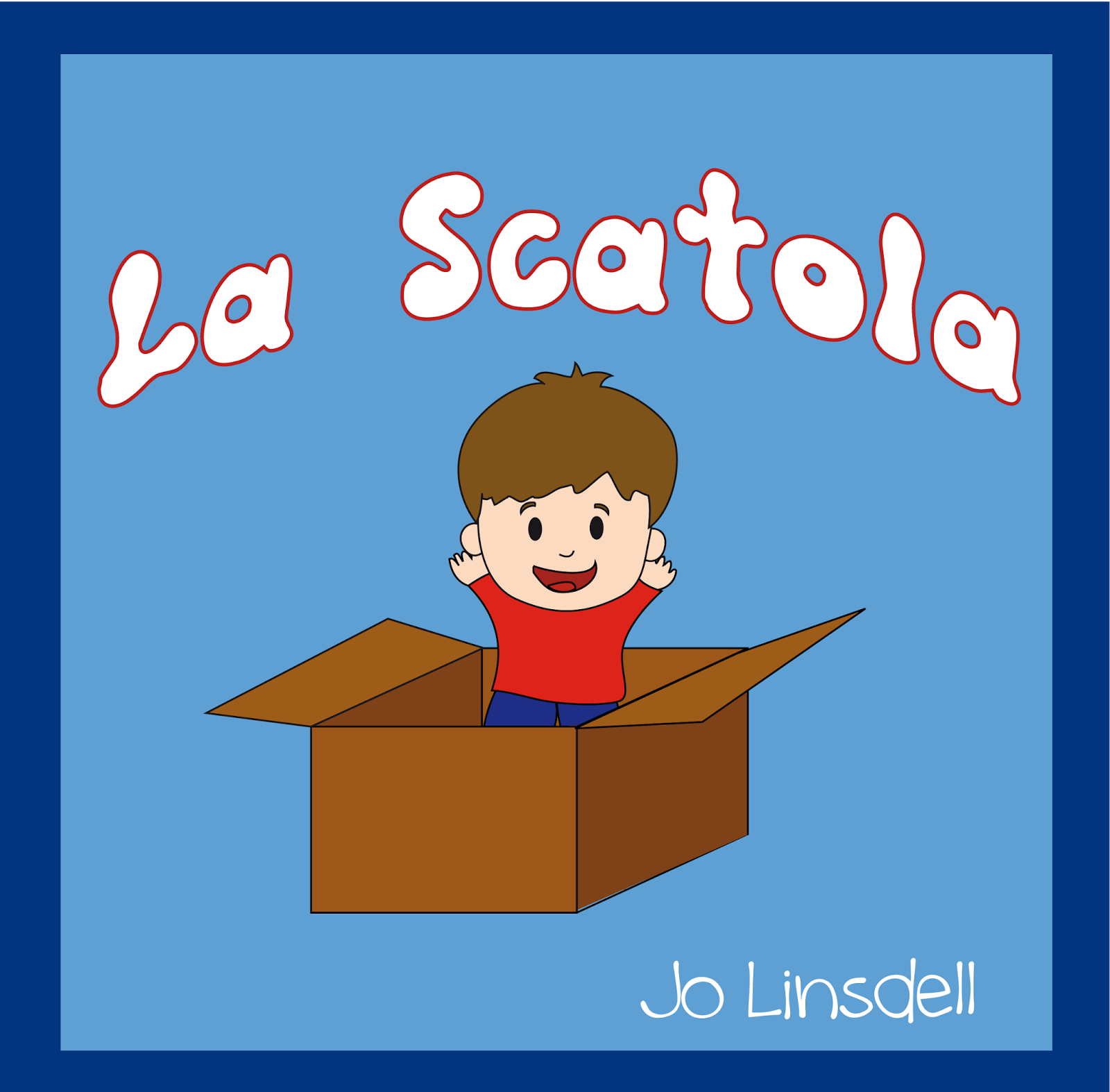 Book cover, La Scatola by Jo Linsdell