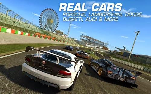 Real Racing 3 APK real cars