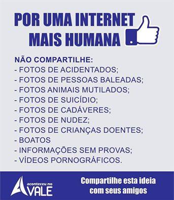 POR UMA INTERNET MAIS HUMANA - O CASO DO HUGO É CAMPANHA!