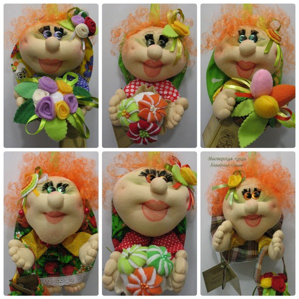 Куклы Оранжевые