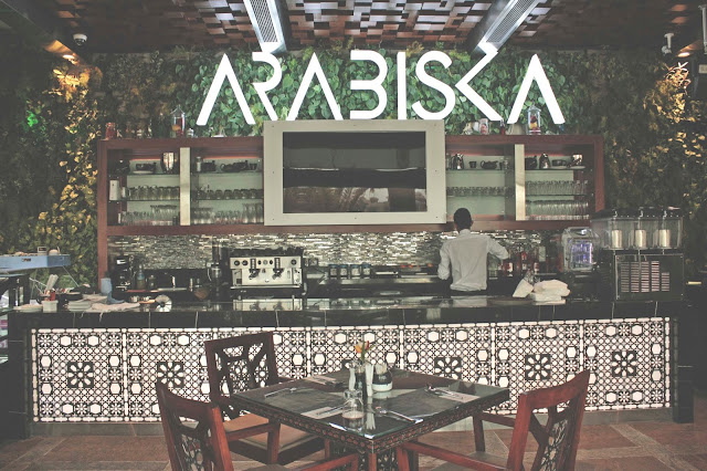 Arabic restaurant in The Palm Jumeirah