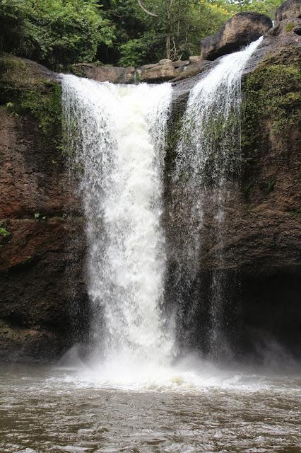 Cascada en Parque nacional de khao yai