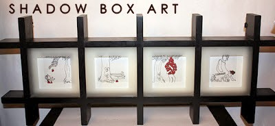 SHADOW, BOX, ART