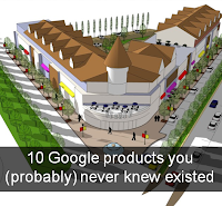 AdamVincenzini[dot]com: 10 Google products you (probably) never knew existed