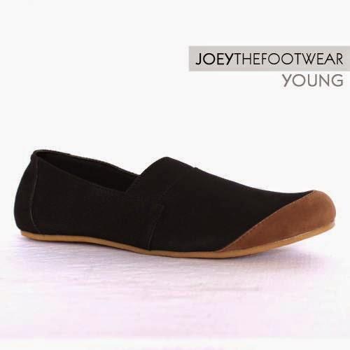 Sepatu Murah Berkualitas Joey Young Black