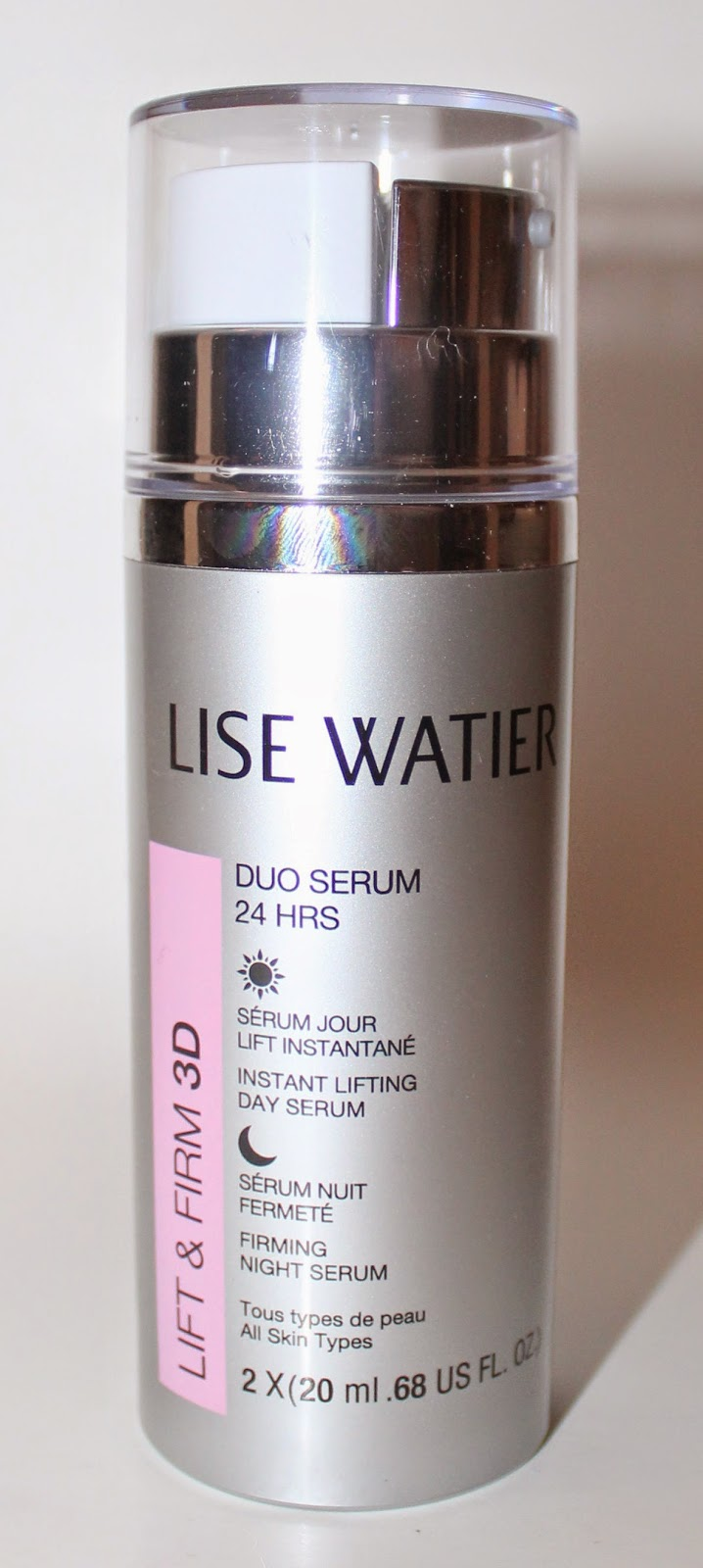 Lise Watier Duo Serum 24 HRS Lift & Firm 3D