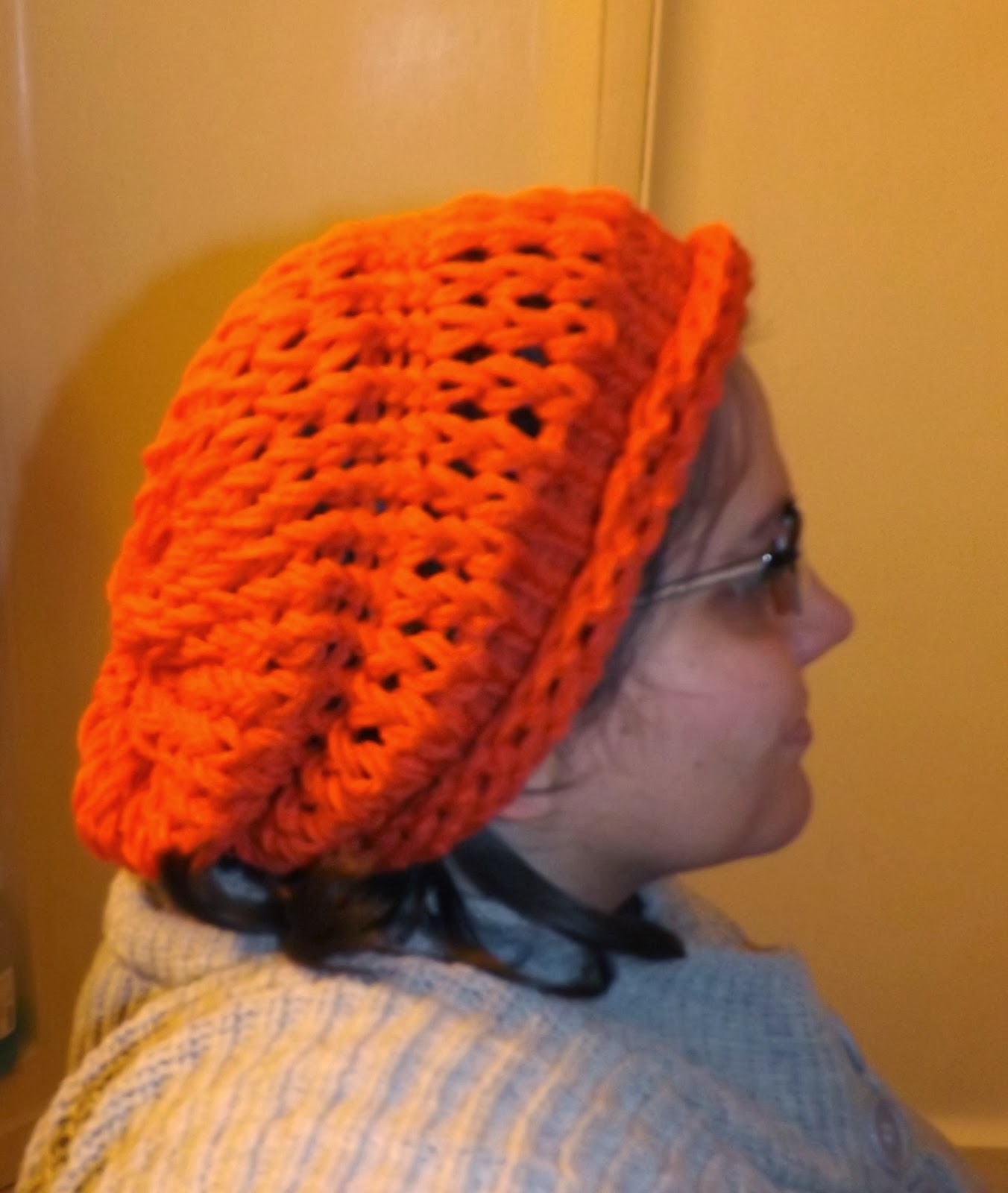 Drop Stitch Knit Hat Pattern : Simply Intertwined : Free Drop Stitch Hat Pattern
