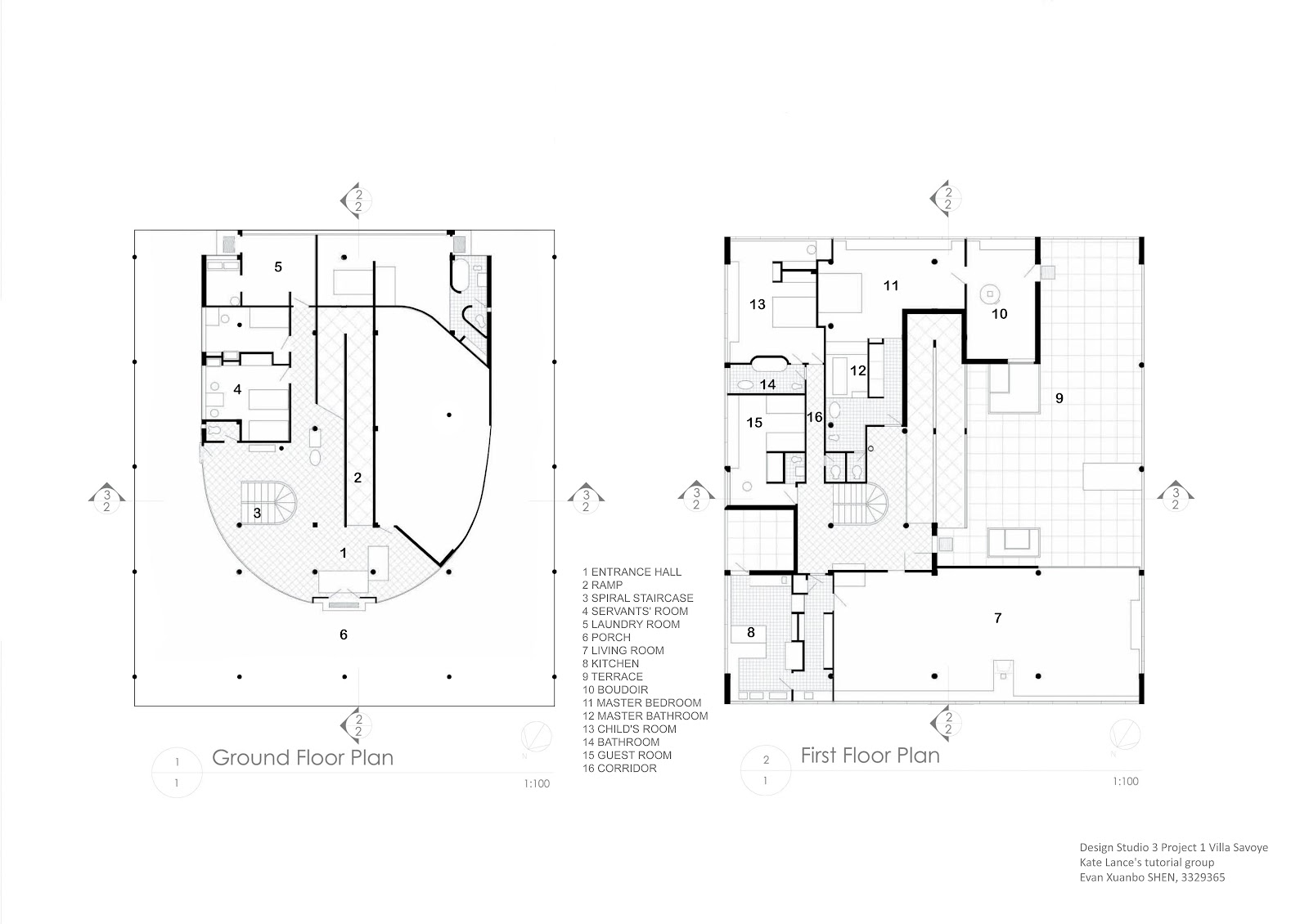 villa savoye plan dimensions pssucai villa savoye 2nd floor plan thursday 15 march 2012villa savoye plan dimensions