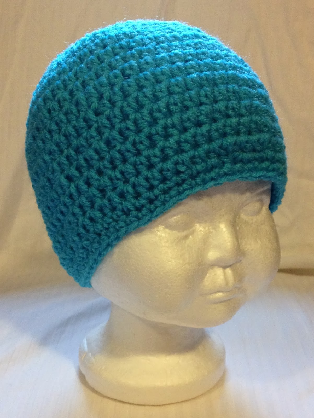 Basic Crochet Pattern For Hat : Free Basic Hat Crocheted Pattern