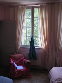 Dancing curtains in France