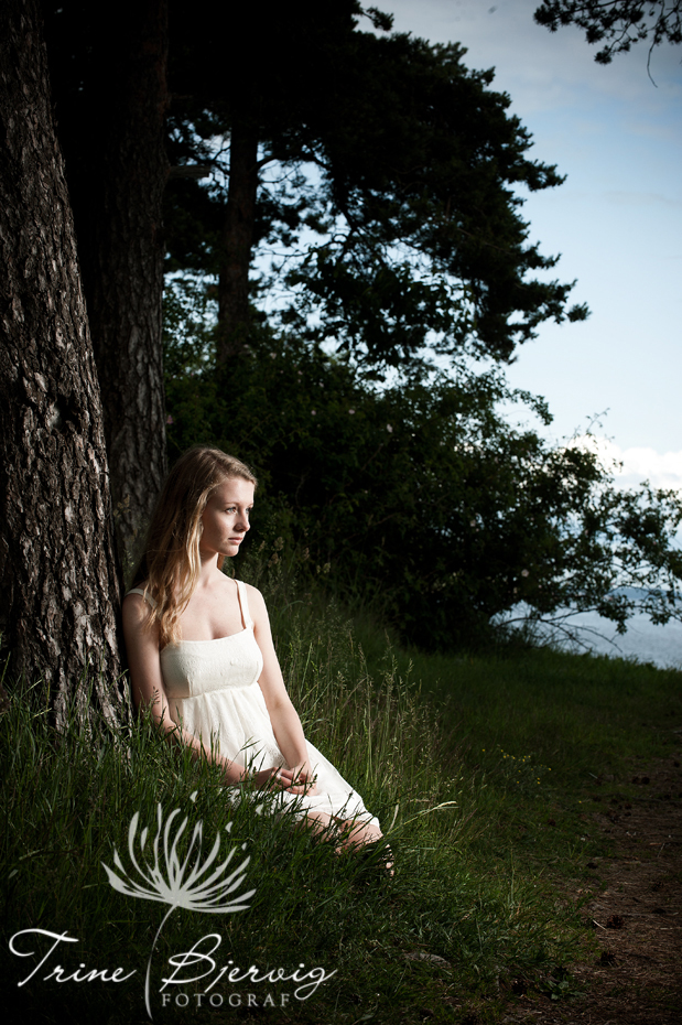 Konfirmasjonsfotografering, fotografert av fotograf Trine Bjervig, Tønsberg