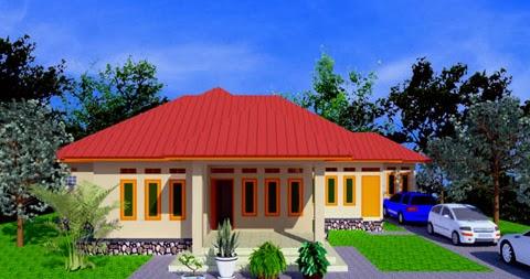 gambar desain rumah sederhana luas bangunan 250 m2