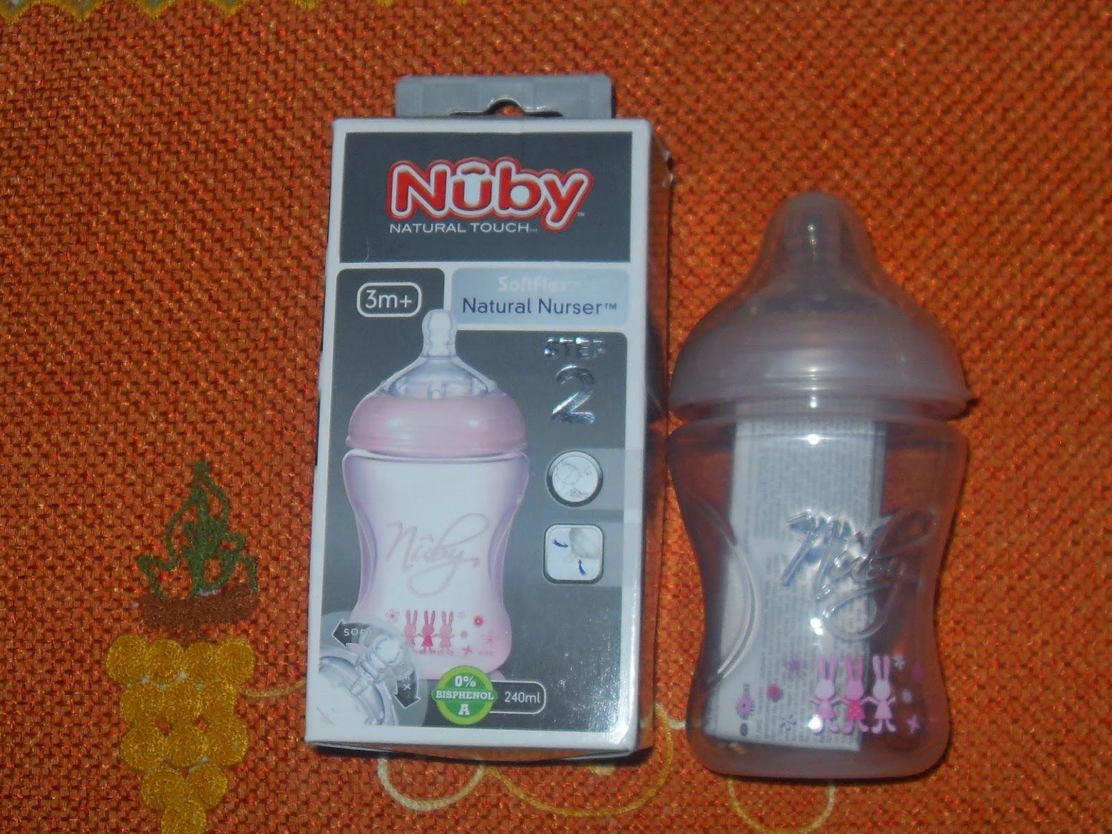 nuby natural nurser il biberon contro le colichette neonatali