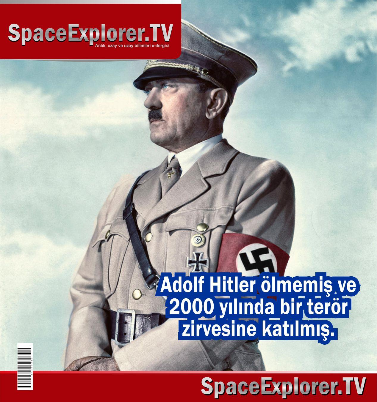Adolf Hitler, Gizlenen gerçekler, Nazi Almanya'sı, Nazi UFO'ları, Nazi uzay araştırmaları,
