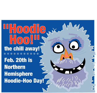 National hoodie day