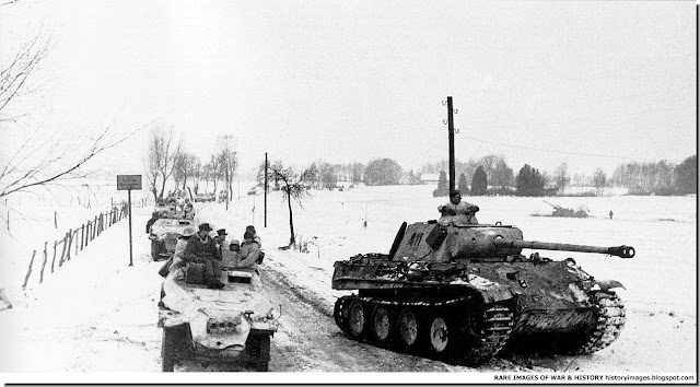 Photographs of the Tigers from TvT Panther-german-APC-kattenau-east-prussia-january-14-1945